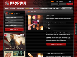 Reading Cinemas NZ gift card purchase