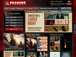 Reading Cinemas NZ shopping