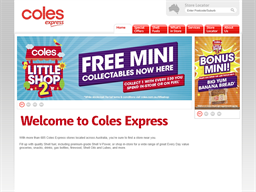 Coles Express shopping
