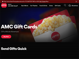 AMC Theatres gift card purchase