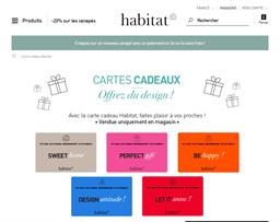 Habitat gift card purchase