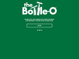 The Bottle-O shopping