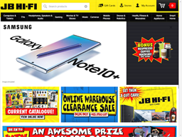 JB Hi-Fi shopping