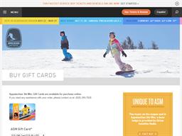 Appalachian Ski Mountain gift card purchase