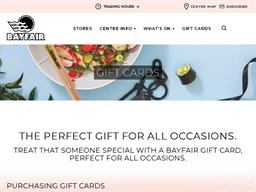 Bayfair gift card purchase