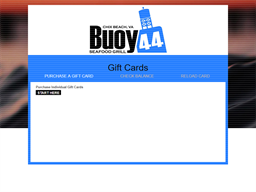 Buoy 44 Seafood Grill gift card purchase