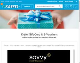 Krefel gift card balance check