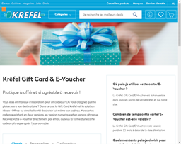 Krefel gift card purchase