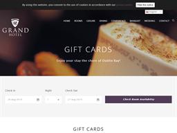 Grand Hotel Malahide gift card purchase