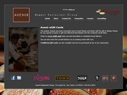Avenir Restaurant Group gift card purchase