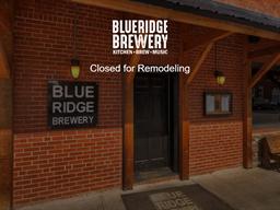 Blue Ridge Brewery shopping