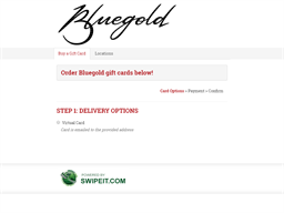 Bluegold gift card purchase