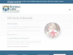 Brinton Lake Dermatology gift card purchase