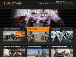 Barb's Harley Davidson shopping