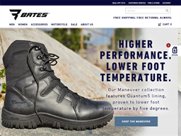 Bates Footwear shopping