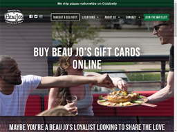 Beau Jo's Pizza gift card purchase