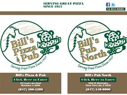 Bill's Pizza & Pub shopping