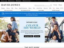 David Jones shopping