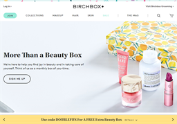 Birchbox shopping