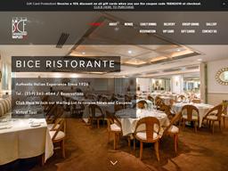 BiCE Restaurant in Naples shopping