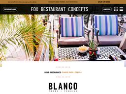 Blanco Tacos & Tequila shopping