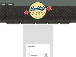 Buddy's Pizza gift card balance check