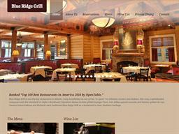 Blue Ridge Grill shopping