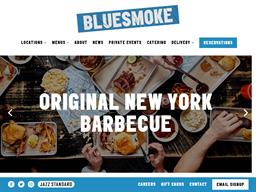 Blue Smoke shopping