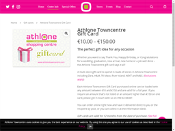 Athlone Towncentre gift card purchase