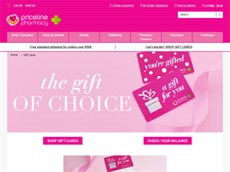 Priceline gift card purchase