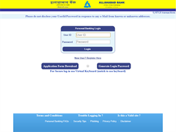 Allahabad Bank gift card purchase