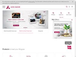 Axis Bank shopping