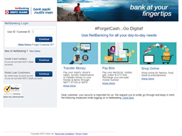 HDFC Bank gift card purchase