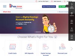 RBL Bank shopping