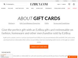Ezibuy gift card purchase