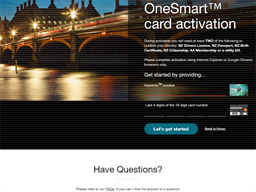 One Smart Mastercard gift card purchase
