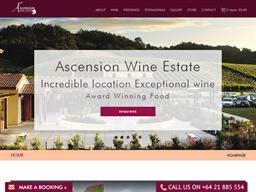 Ascension Wine Estate shopping