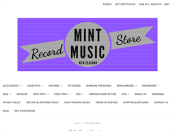 Mint Music gift card balance check