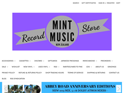 Mint Music shopping