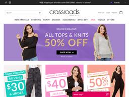 Crossroads shopping
