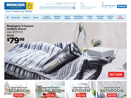 Briscoes Homeware shopping