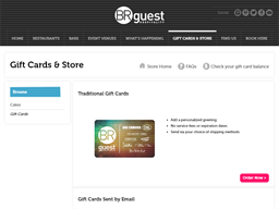 BR Guest gift card purchase