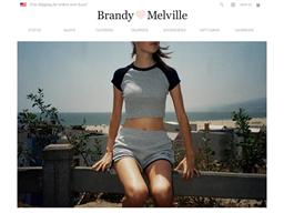 Brandy Melville shopping