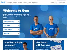 Gem Visa Credit Card shopping