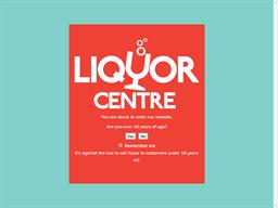 Liquor Centre gift card purchase