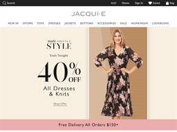 Jacqui E shopping