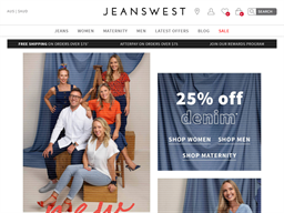 Jeanswest shopping