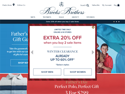 Brooks Brothers gift card purchase