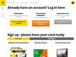 AA New Zealand gift card balance check
