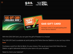 Gasoline Alley gift card purchase